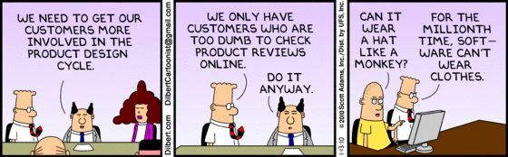 dilbert i need to know